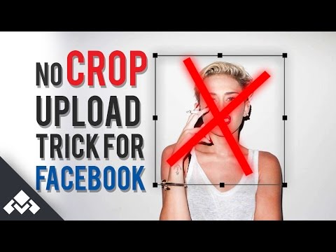 How to upload full photo to facebook-NO CROP-(JAN 2017)