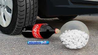 Experiment: Car Vs Coca Cola and Mentos