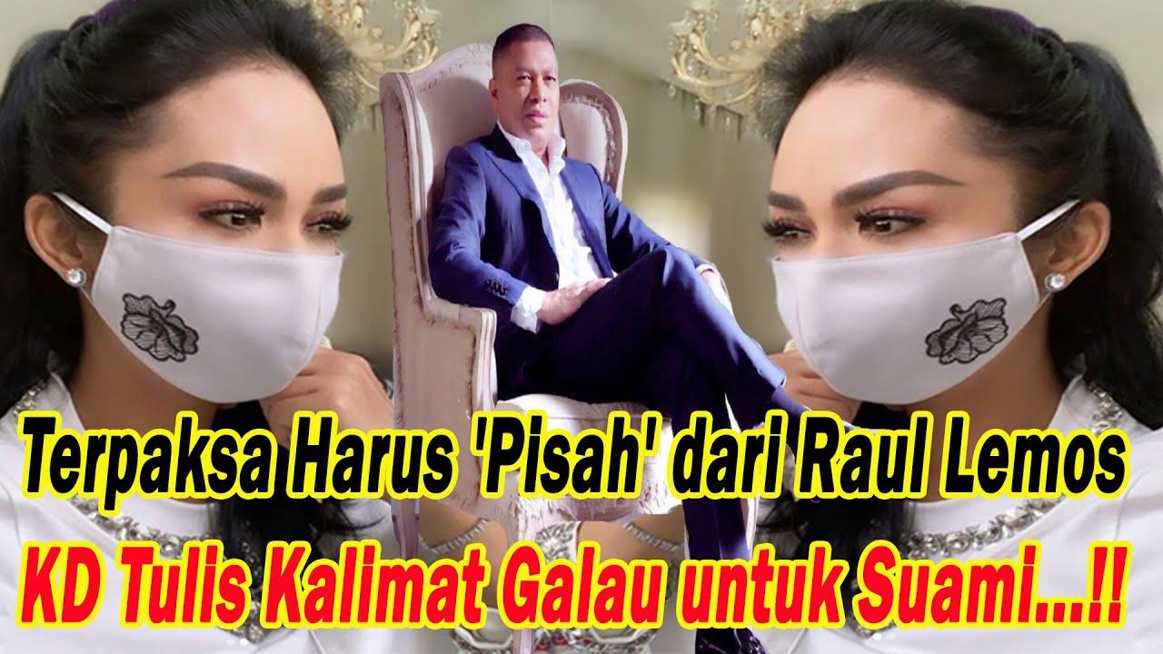 Download Terpaksa 'Pisah' dari Raul Lemos!! Krisdayanti Tulis Kalimat Galau untuk Sang Suami MP3 Gratis