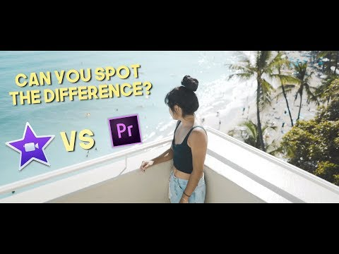 Editing a Cinematic Sequence in iMovie vs. Premiere Pro