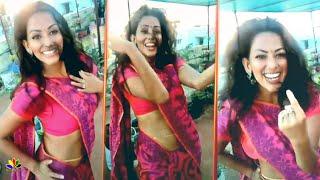 Actress Sanjana Singh Hot Kuthu Dance Video   Tamil Actress Gym Workout And Dance 2020