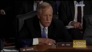 sen angus king gets contentious with nsa chief rogers
