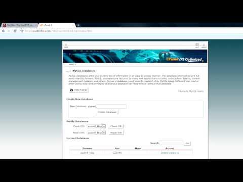 Create a WordPress MySQL Database | Install WordPress on WebHost | phpMyAdmin