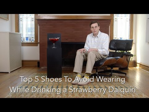 Top 5 Sneakers To Avoid Wearing While Drinking a Strawberry Daiquiri