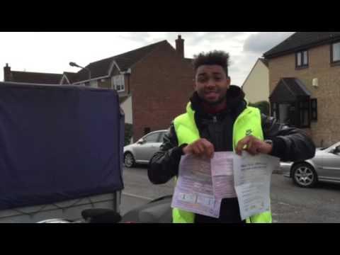 Wesley Samuel... Passed motorcycle DAS test