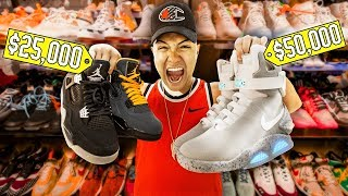 I Got Invited To The Most Expensive Sneaker Store In The World
