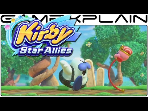 Kirby: Star Allies - First Look at New Abilities in Action!