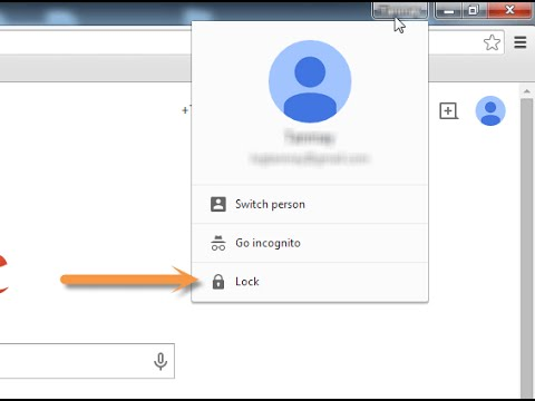 How to restore user profile in google chrome ?