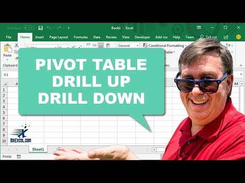 Learn Excel - Drill Up & Drill Down in Pivot Table - Podcast 2196