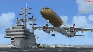 Immature Child gets told OFF by ATC - FSX Multiplayer