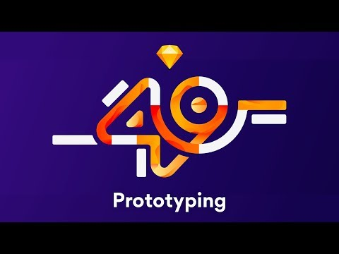 Prototyping in Sketch 49 (with no plugins)