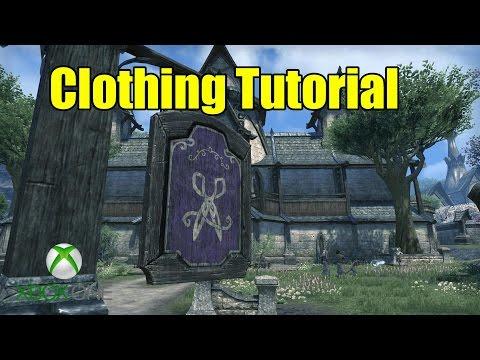 Elder Scrolls Online (ESO) Xbox One -  Clothing Crafting Guide Tutorial