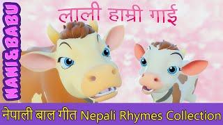 Lali Hamri Gai लाली हाम्री गाई | Nepali Rhymes Collection | लोक प्रिय नेपाली बाल गीत