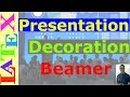 Decoration of Presentation with Beamer (Latex Tutorial, Episode - 22)
