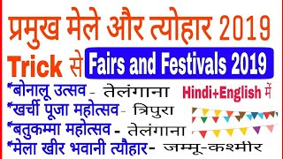 Important Fairs and festivals of India 2019 | प्रमुख उत्सव और मेले 2019 |current affairs 2019