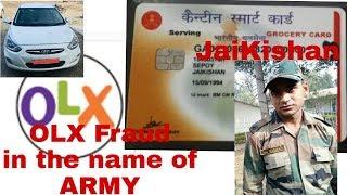 OLX Fraud| OLX Army man|Jaikishan