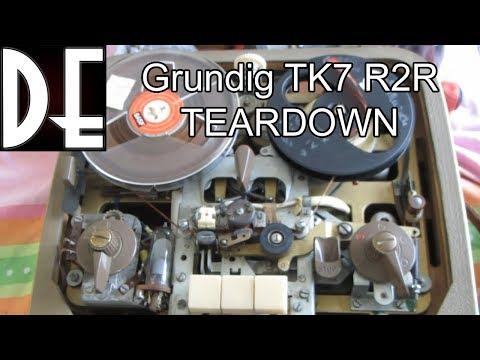 Grundig TK7 Reel to Reel - Teardown