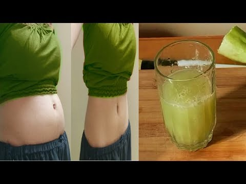 Lose Belly Fat in 1 week with cucumber weight loss drink, Purify kidney, liver & Pancreas