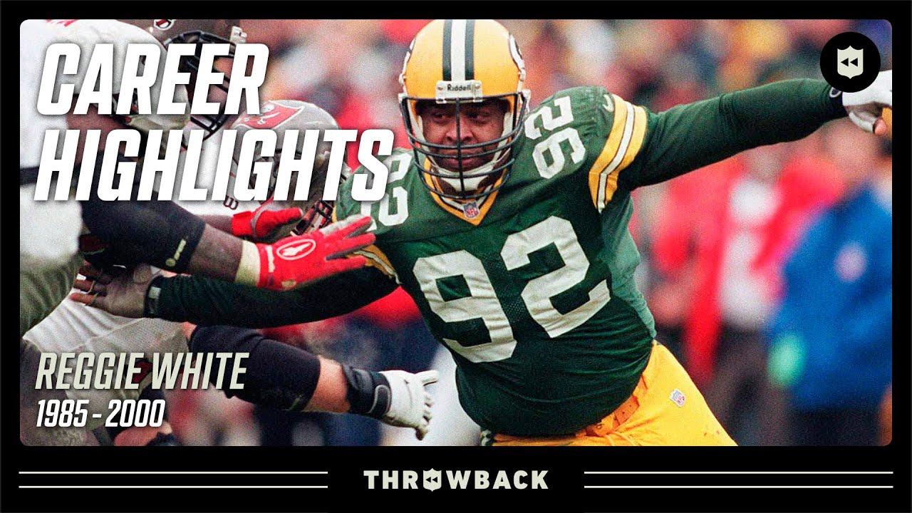 "Reggie ""The Minister of Defense"" White's DOMINANT Career Highlights!   NFL Legends"