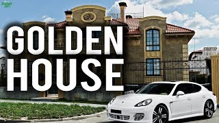BUYING A HOUSE MADE OUT OF GOLD!