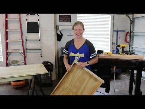 How to  Build and Hang Custom Desk Drawers