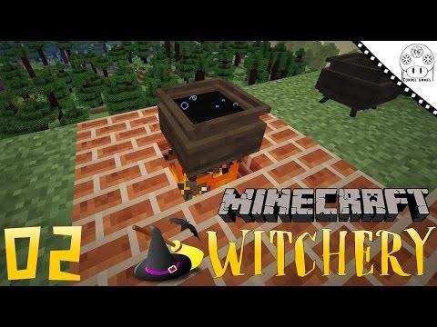 TUTORIAL WITCHERY - #2 WITCH'S CAULDRON [MINECRAFT MOD WITCHERY]