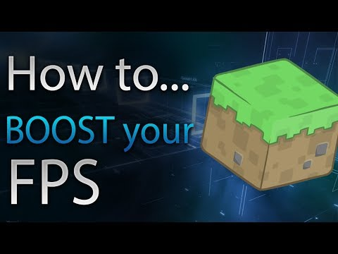 Three Ways to BOOST Your FPS in Minecraft!