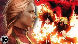 Top 10 Marvel Characters Who Are Stronger Than Captain Marvel