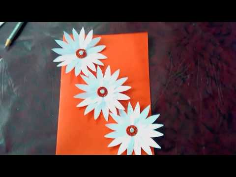 Hand made card   beautiful hand made card   simple hand made card