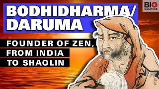 Bodhidharma: Founder of Zen, from India to Shaolin