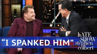 "Corden On Trump: ""I Spanked Him"""