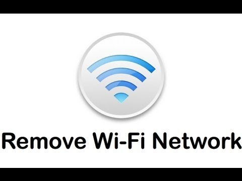 ★how to forget wifi network in windows 8.1★
