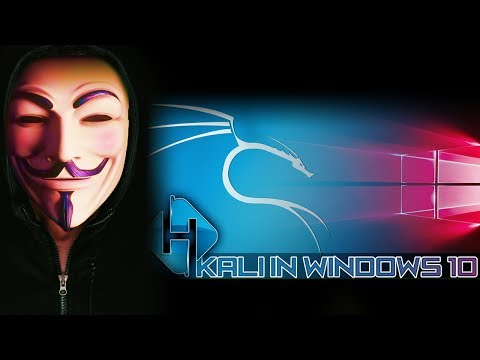 Install Kali into Windows 10 (NOT Dual Boot or VM)