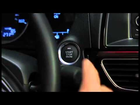 2014 Mazda6 Push to Start and Starting the Engine with a Dead Key
