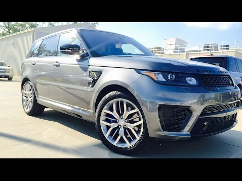 2016 Range Rover SVR Sport Full Review /Exhaust /Start Up /Short Drive