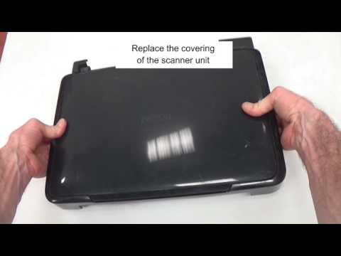 How to Clean the Internal of an Epson XP Scanner