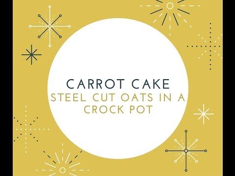 Carrot Cake Steel Cut Oats -- TellMeDelmy Ep 2!