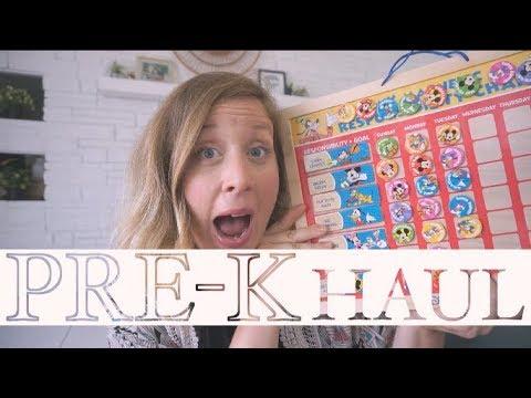 Pre-K Homeschool Haul | steffiethischapter