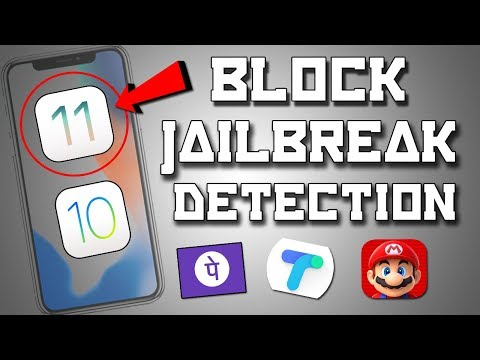 How to Bypass Jailbreak Detection On ios 11 Electra Jailbreak ✔   Run Banking Apps & All Games