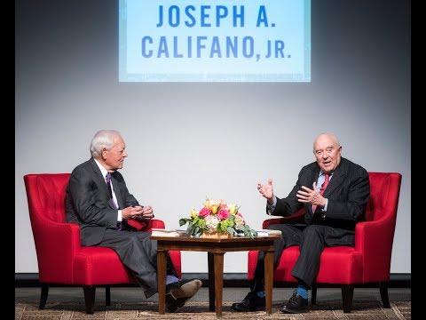 An Evening With Joseph Califano, Jr.
