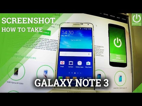 How to Take Screenshot on SAMSUNG Galaxy Note 3 - Capture Screen