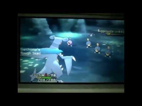 Shiny Trio Pokémon Y Stunky, Roggenrola and Mime Jr PSP Vid