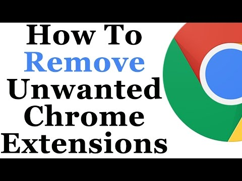 Google Chrome Tutorial - How to disable and also remove add-ons and extensions