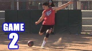 SOCCER BASEBALL! | On-Season Kickball Series | Game 2