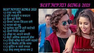 BEST NEPALI SONGS 2021 टाड भएपनि ,फुल बुट्टे सारी ,पत्थरकाे मुटु ,new 13 song collection