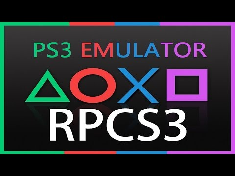 RPCS3: HOW TO INSTALL PS3 GAMES .BIN ( PS3 EMULATOR ) 2016