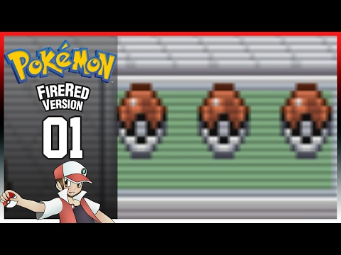 Pokemon Fire Red: Part 1 - Old Adventure, New Start - Let's Play!