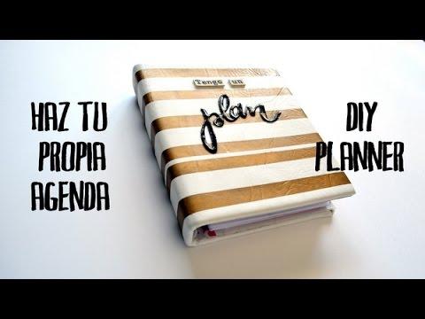 Haz tu propia agenda - DIY planner