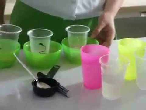 Growing Yeast:Sugar Fermentation