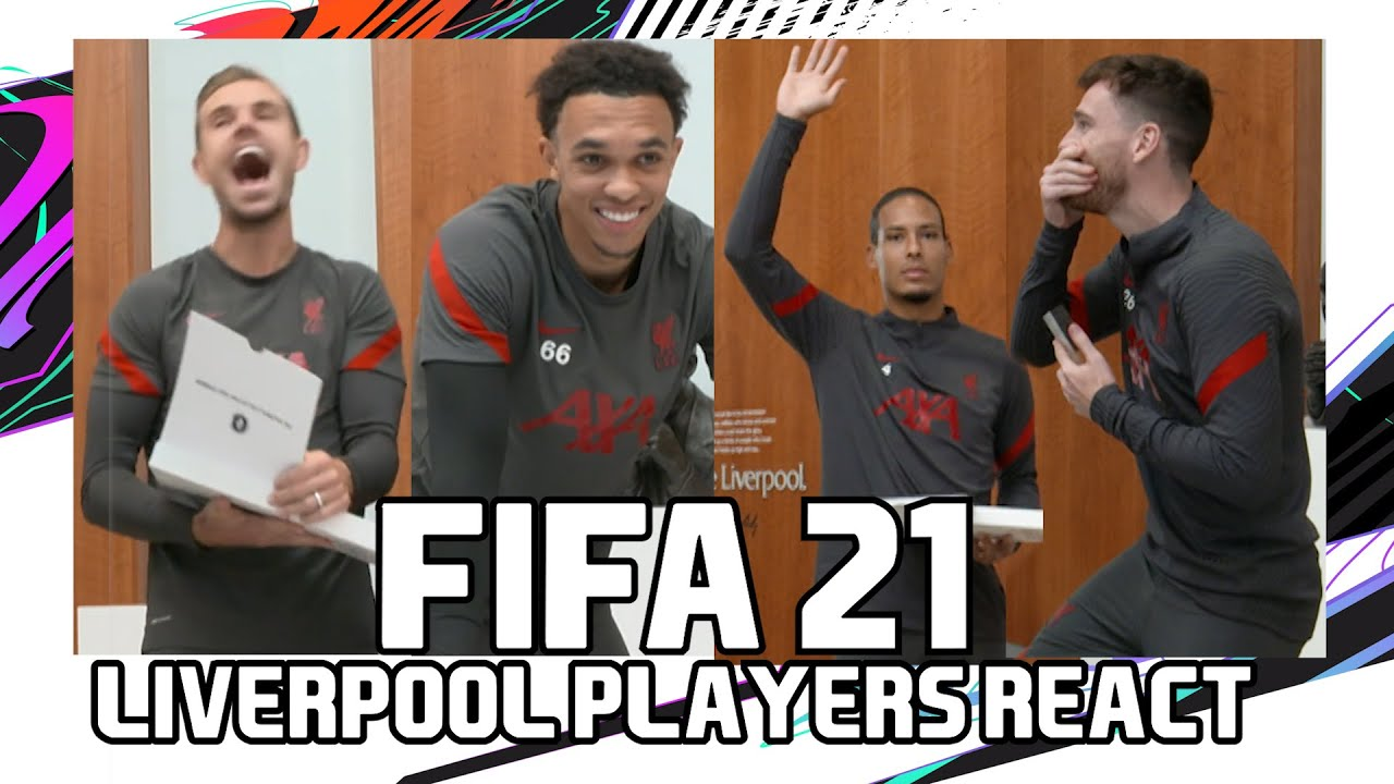 FIFA 21: Liverpool players react! | Trent & Robbo compete, Chamberlain rants & much more!